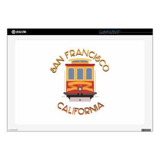 San Francisco Cable Car Laptop Skin