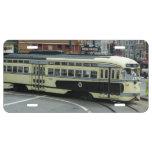 San Francisco Cable Car License Plate