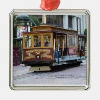 San Francisco Cable Car Ornaments