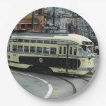 San Francisco Cable Car Paper Plate