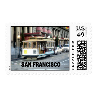 San Francisco cable car Postage Stamp