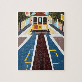 San Francisco Cable Car Puzzle