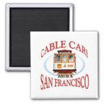 San Francisco Cable Car Refrigerator Magnets