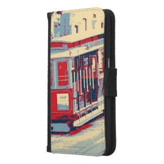 San Francisco,cable car Samsung Galaxy S6 Wallet Case