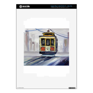San Francisco Cable Car Skin For iPad 3