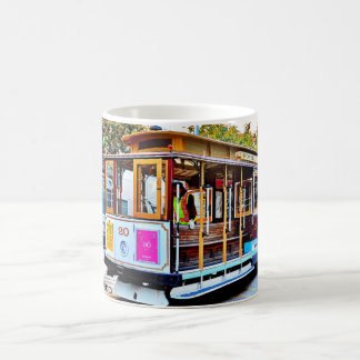 SAN FRANCISCO CABLE CAR SOUVENIR COFFEE MUG