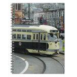 San Francisco Cable Car Spiral Notebook