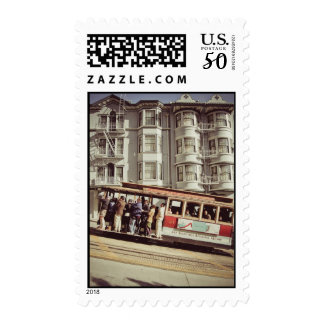 San Francisco cable car stamps