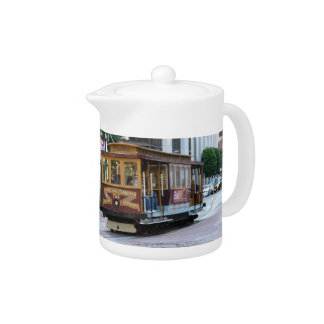 San Francisco Cable Car Teapot
