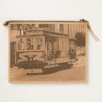 San Francisco Cable Car Travel Pouch