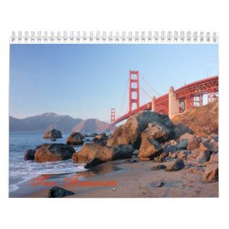 San Francisco Calendarios De Pared