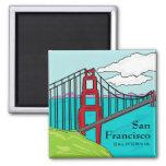 San Francisco Cali golden gate bridge magnet