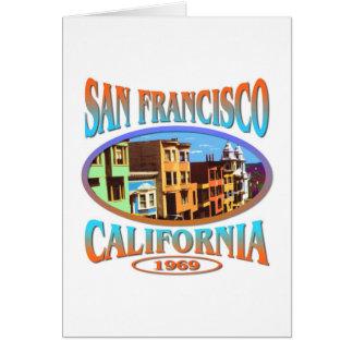 San Francisco California 1969 Card