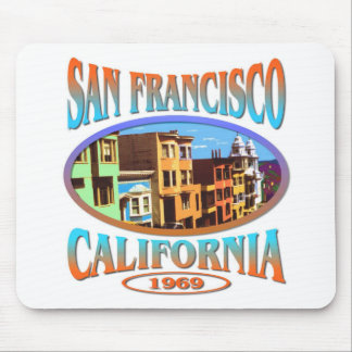 San Francisco California 1969 Mouse Pad