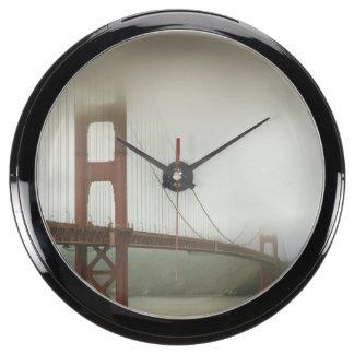San Francisco, California Aquavista Clock