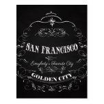 San Francisco California Art - The Golden City Post Cards