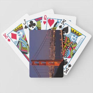 San Francisco, California Bicycle Playing Cards