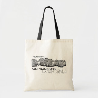 San Francisco California black old town bag