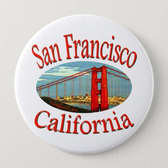 San Francisco California Button
