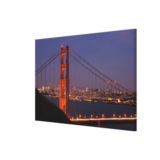 San Francisco, California Stretched Canvas Print