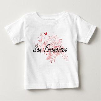 San Francisco California City Artistic design with Baby T-Shirt