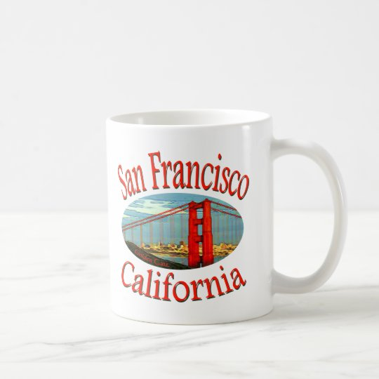 San Francisco California Coffee Mug