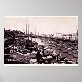 San Francisco California Fishermen's Wharf Print