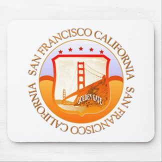 San Francisco California Gift Mouse Pad