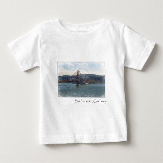 San Francisco California Golden Gate Bridge Baby T-Shirt