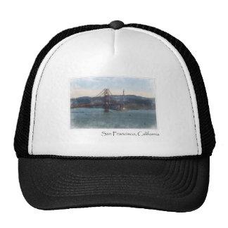 San Francisco California Golden Gate Bridge Trucker Hat