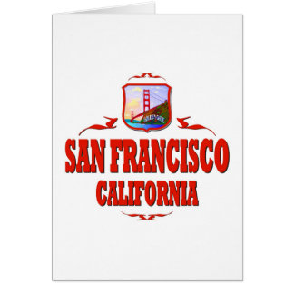 San Francisco California Golden Gate Stationery Note Card