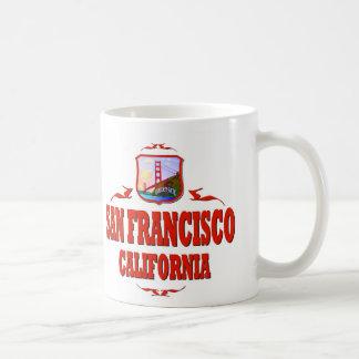San Francisco California Golden Gate Mugs