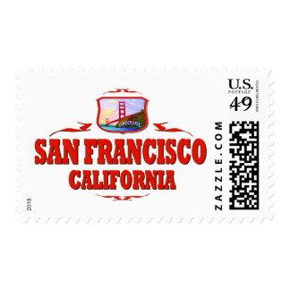 San Francisco California Golden Gate Postage