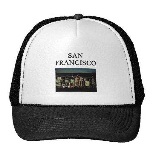SAN FRANCISCO California Gorros Bordados