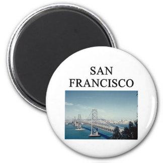 SAN FRANCISCO California Imán De Frigorifico
