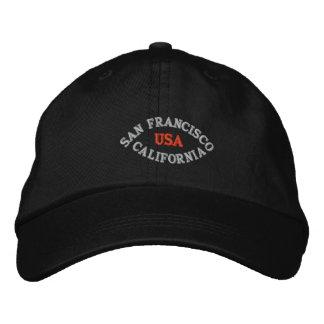 SAN FRANCISCO CALIFORNIA LOS E E U U GORRA DE BEISBOL BORDADA