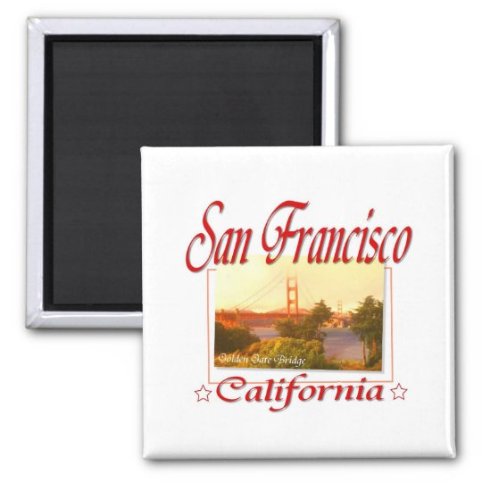 San Francisco California Magnet