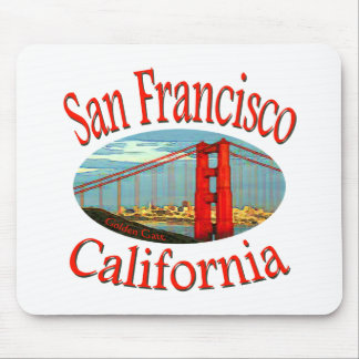 San Francisco California Mouse Pad