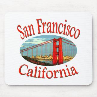 San Francisco California Mouse Pad