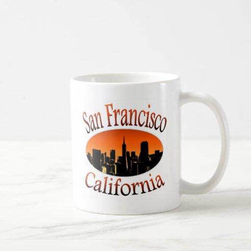 San Francisco California Mugs