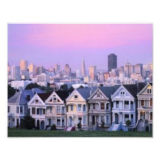 San Francisco, California. Opinión el Victorian Fotografía