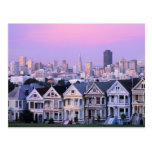 San Francisco, California. Opinión el Victorian Postales
