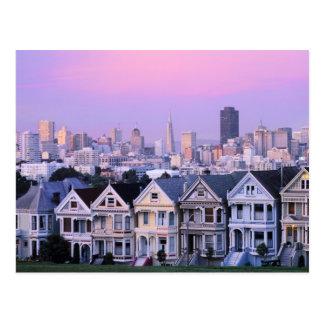 San Francisco California Opinión el Victorian Postales