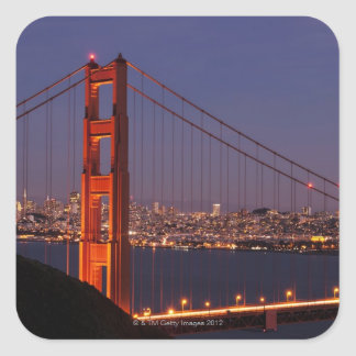 San Francisco, California Pegatina Cuadrada