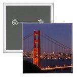 San Francisco, California Pin Cuadrado