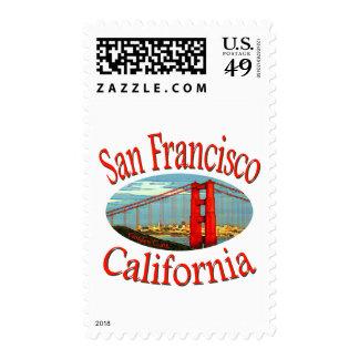 San Francisco California Postage Stamps