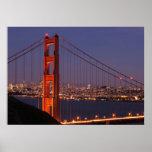 San Francisco, California Póster