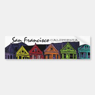 San Francisco California scenic bumper sticker Car Bumper Sticker
