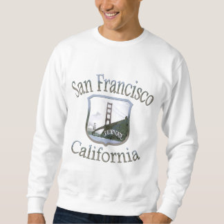 San Francisco California Silver Sweatshirt