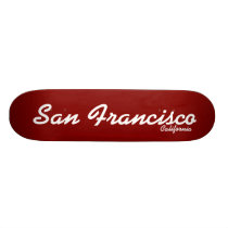 San Francisco, California Skateboard
